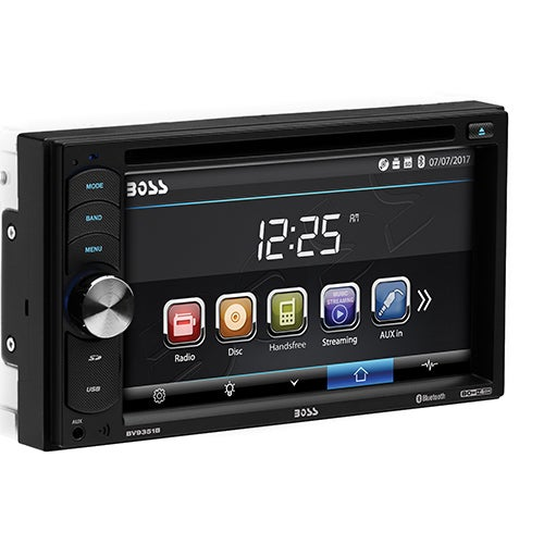 """Double DIN DVD Player w/ 6.2"""" Touchscreen"""