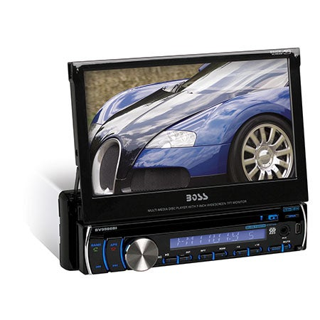 "7"" In-Dash DVD/MP3/CD AM/FM Receiver w/Bluetooth"
