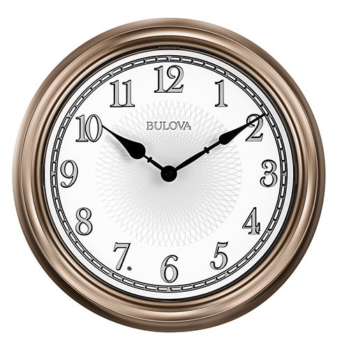 Light Time Outdoor Auto Wall Clock
