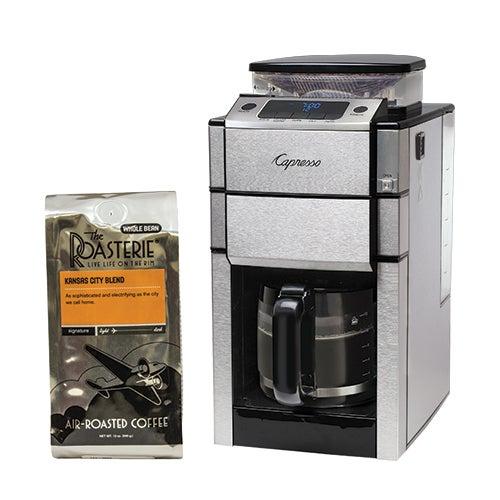 TEAM PRO Plus Coffeemaker w/ The Roasterie Gourmet Coffee