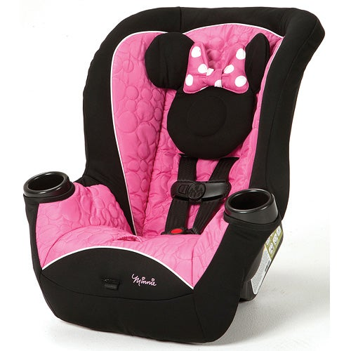 Disney Mousketeer Minnie Apt Convertible Car Seat