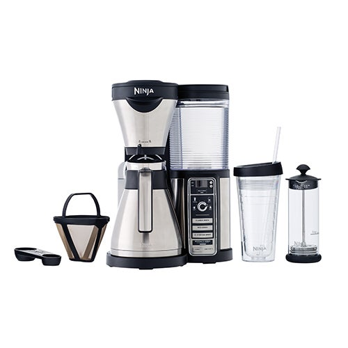 Coffee Bar w/ Stainless Steel Carafe
