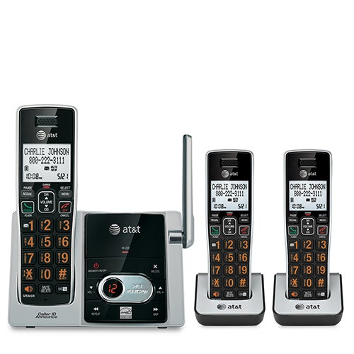 3-Handset Cordless Answering System