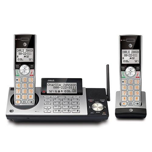 2 Handset DECT 6.0 Expandable Cordless Telephone