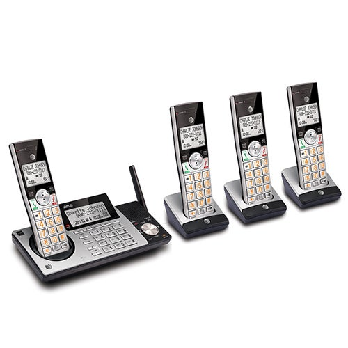 4 Handset Answering System w/ Caller ID/Waiting