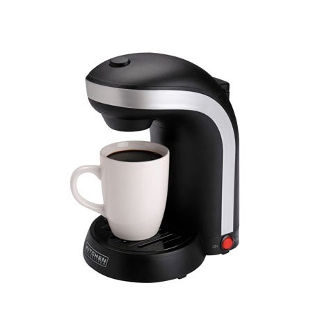 One Cup Coffeemaker with Mug