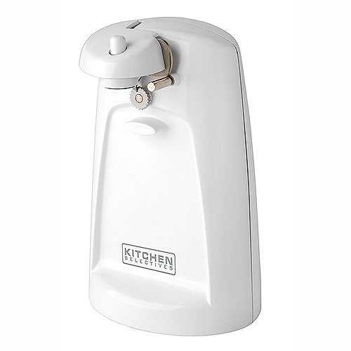 Electric Can Opener, White