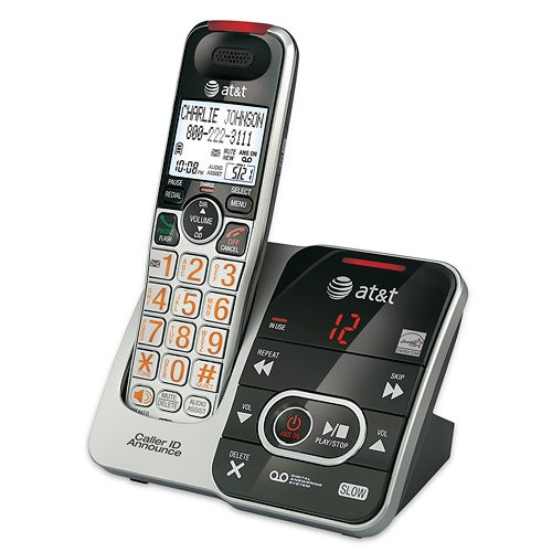 Cordless Answering System w/Caller ID Announce