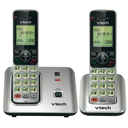 DECT 6.0 Cordless Phone System w/2 Handsets