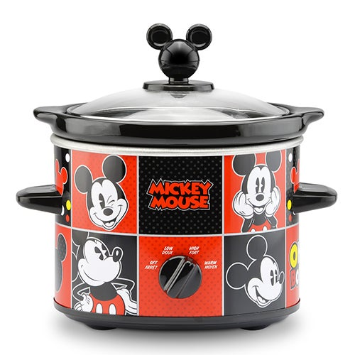 Mickey Mouse 2 Qt Slow Cooker