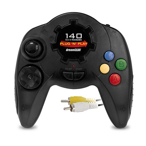 Plug N Play Controller w/ 140 Games Built-in