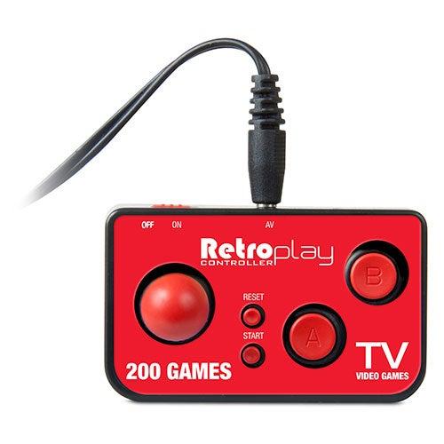 Retroplay Plug N Play Controller w/ 200 Games
