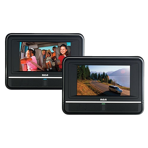 """7"""" Dual Tablet DVD System"""