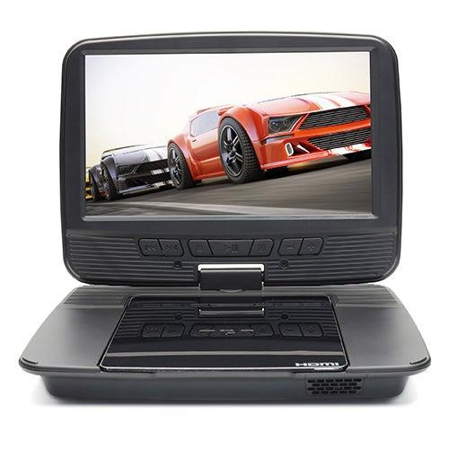 """9"""" Portable DVD Player w /Car Kit"""