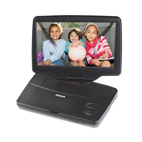 "9"" Portable DVD Player w/ Swivel Screen"