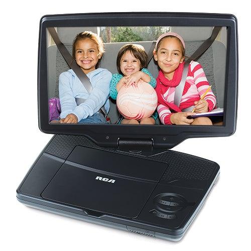 "10"" Portable DVD Player w/ Swivel Screen"