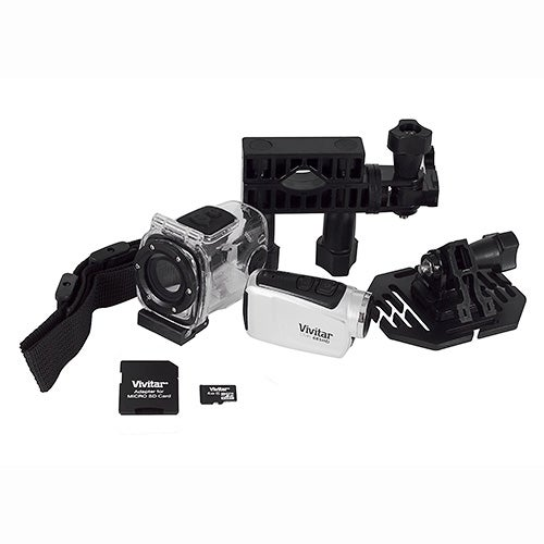 Digital Sports Action Camcorder, Silver