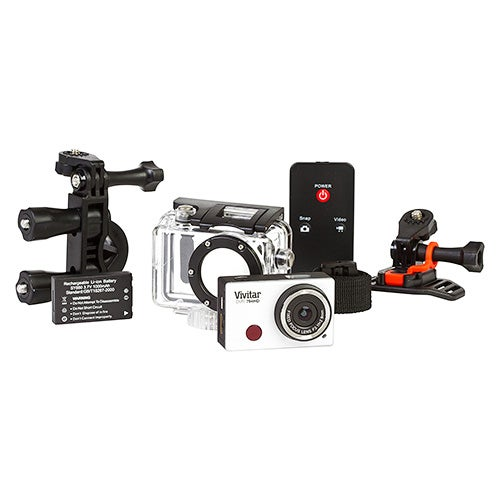 12MP Sports Action Camcorder with Waterproof Case