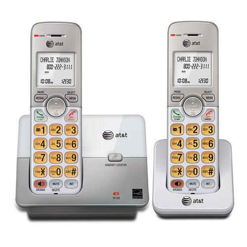 2-Handset Cordless Phone w/ Speakerphone