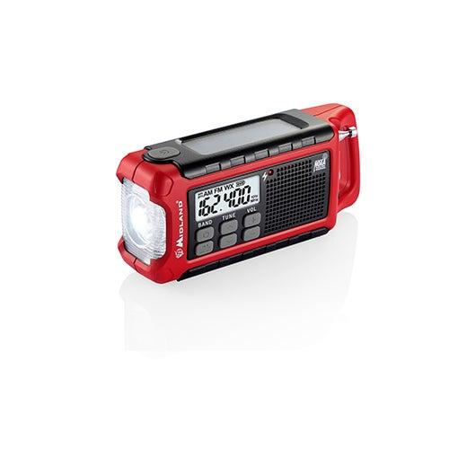 E+Ready Emergency Crank Radio w/ AM/FM Weather Alert