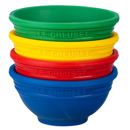 Pinch Bowls 1/4 Cup, Multi-Colored Set of 4