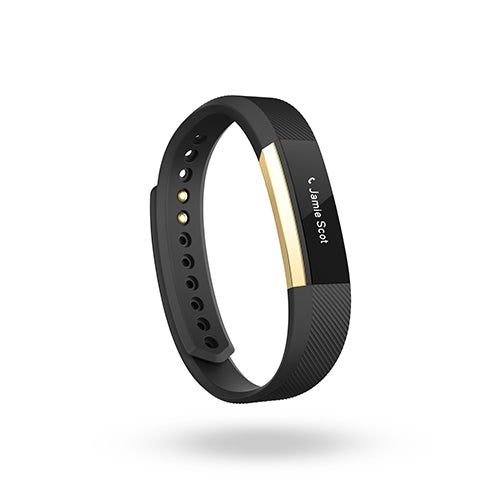 Alta Special Edition Activity/Sleep Wristand, Black/Gold - Large