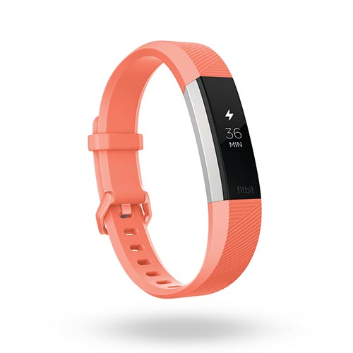 Alta 2 HR Activity Tracker + Heart Rate, Coral - Large