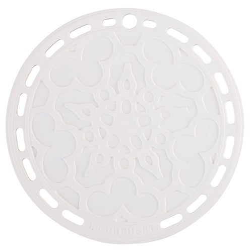 Silicone French Trivet, White