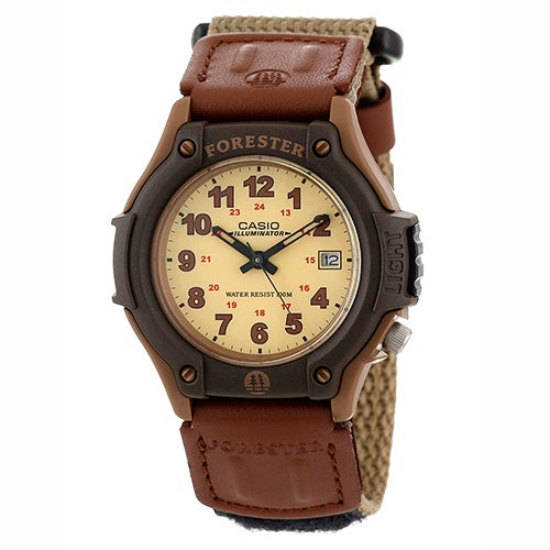 Forester Sport Analog Watch, Tan