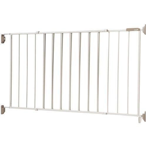 Wide & Sturdy Sliding Gate, Gray