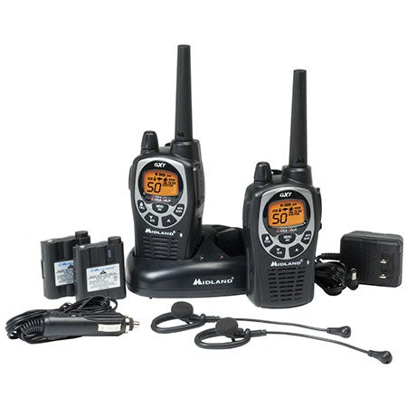 2-Way H20 Waterproof Series Radios, Up to 36 Mile Range