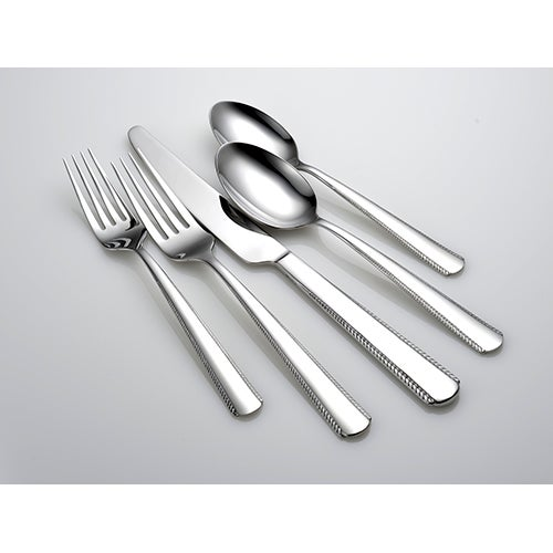 Gable 42 piece flatware set power sales product catalog for Alpine cuisine silverware