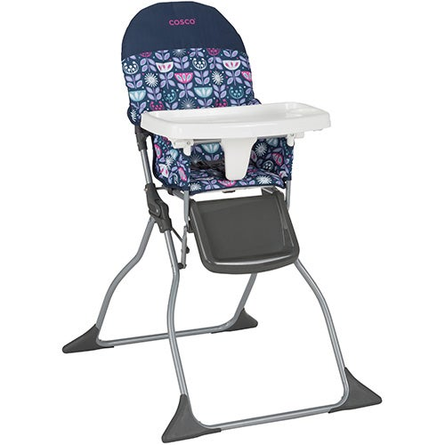 Simple Fold High Chair, Poppy Field
