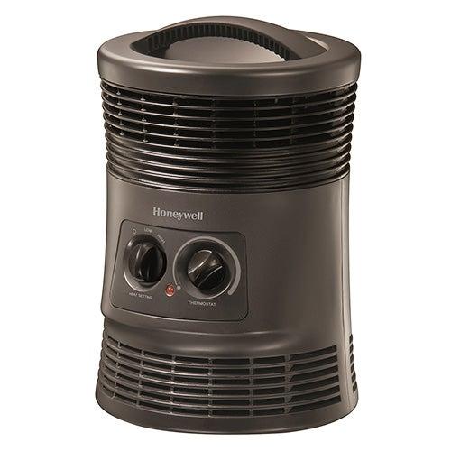 360-Degree Surround Fan Forced Heater, Gray