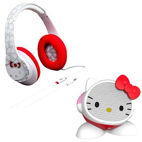 Hello Kitty Speaker & Headphone Bundle