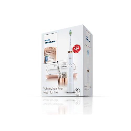 Sonicare Diamond Clean Toothbrush, Rose Gold