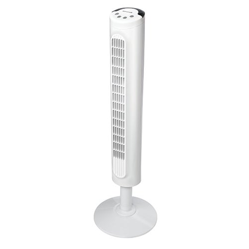 Comfort Control Tower Fan, White