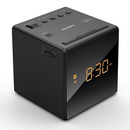 Alarm Clock AM/FM Radio, Black