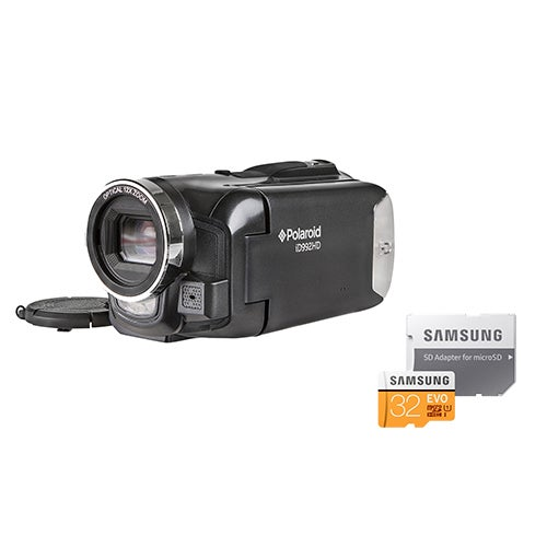16.0MP Full HD Camcorder w/ 32GB MicroSD Card