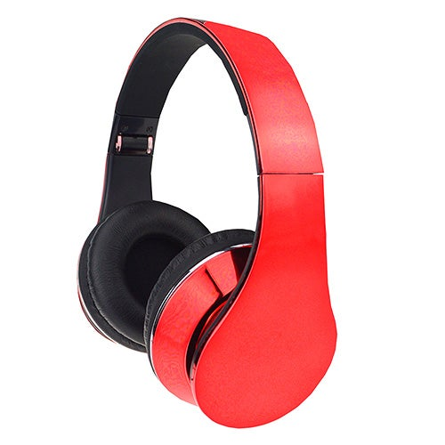 High Performance Stereo Headphones, Red