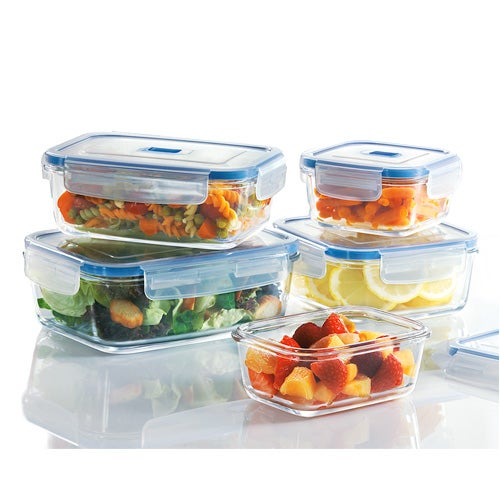 Pure Box 10-Piece Glass Storage Set
