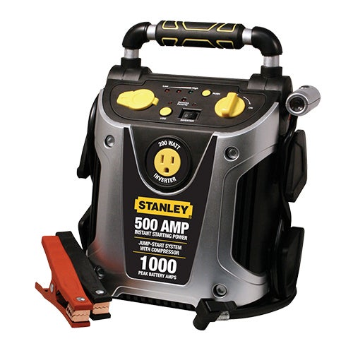 500 Amp Jump Starter, 200W Inverter and Compressor