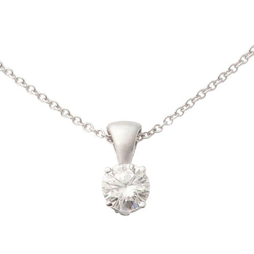 Jilco White Gold Diamond Infinity Necklace Image Of Necklace