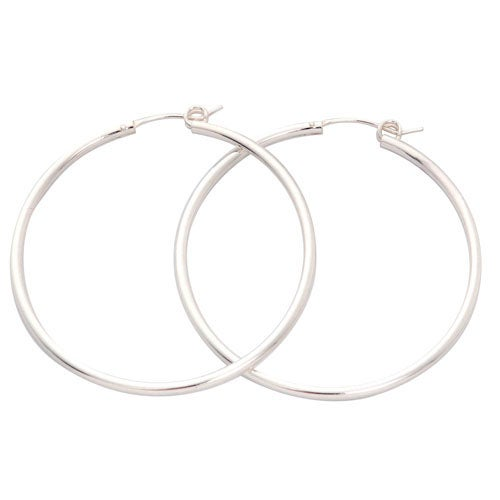 Sterling Silver Hoop Earrings