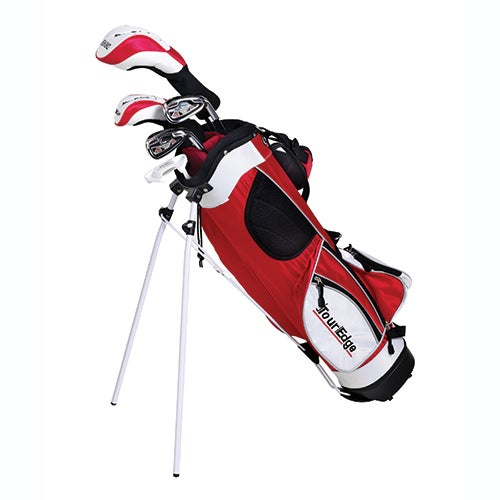 Junior HT Max 4x1 RH Golf Set w/ Red Bag, Ages 5-8 Years