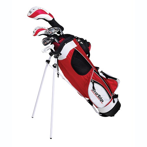 Junior HT Max 5x12 RH Golf Set w/ Red Bag, Ages 9-12 Years