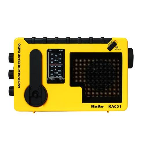 Portable Hand Crank AM/FM & Weather Radio