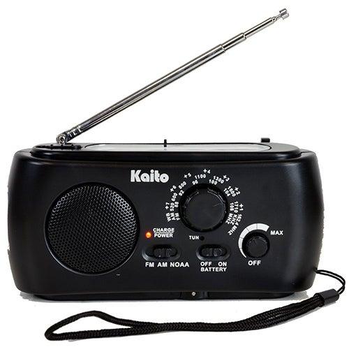 Partable Hand Crank AM/FM NOAA Radio w/ LED Flashlight