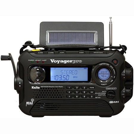 Voyager Pro Digital Solar/Crank AM/FM/Weather/SW Radio