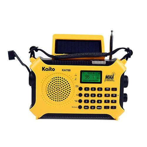 Voyager XL Bluetooth Emergency Hand Crank Solar NOAA Radio